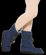 Утеплённые сапожки для разогрева ног